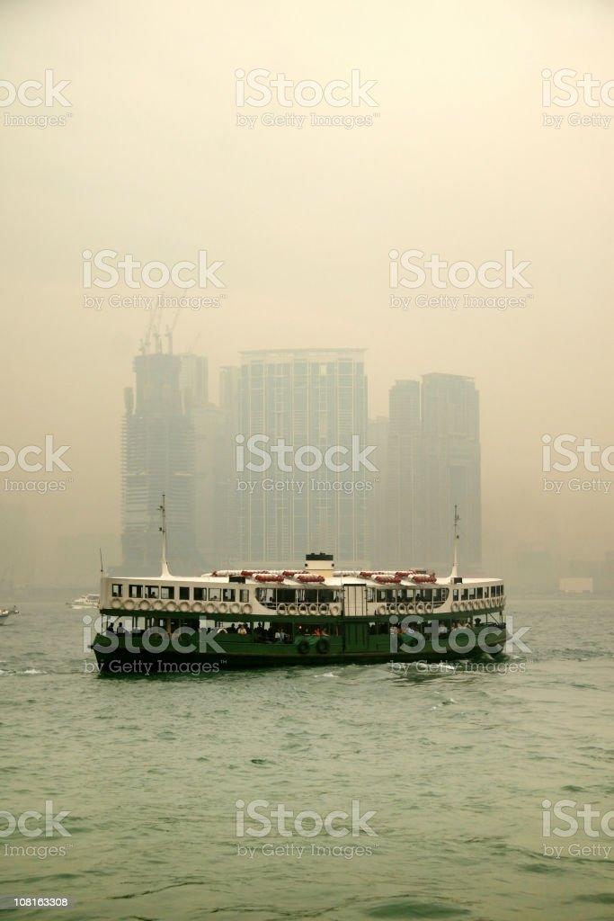 Hongkong Ferry stock photo