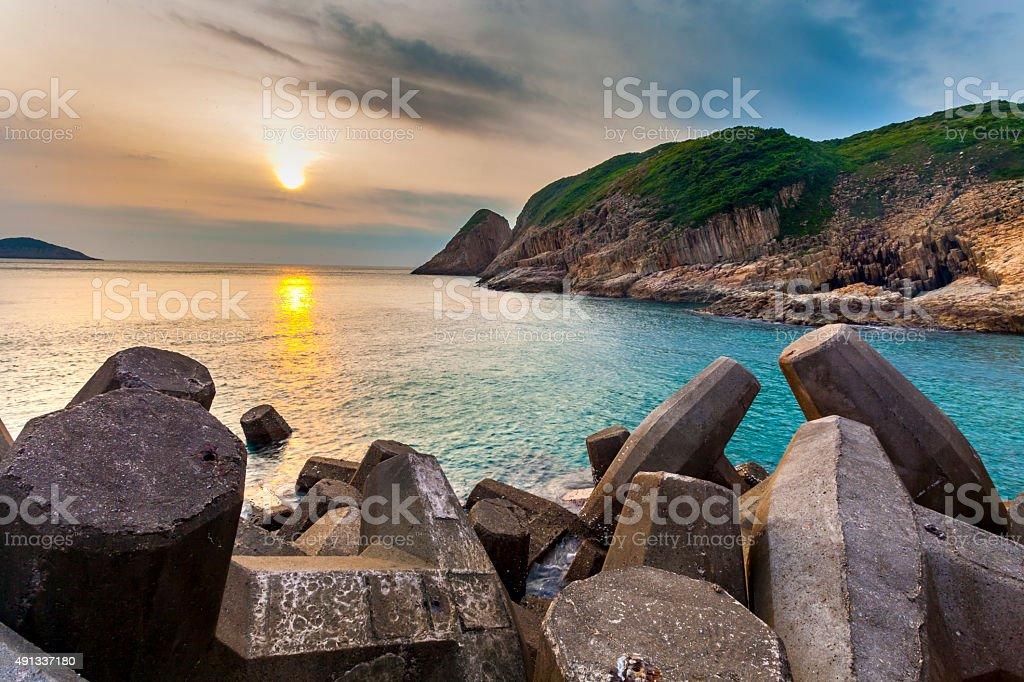 Hongkong  geopark stock photo