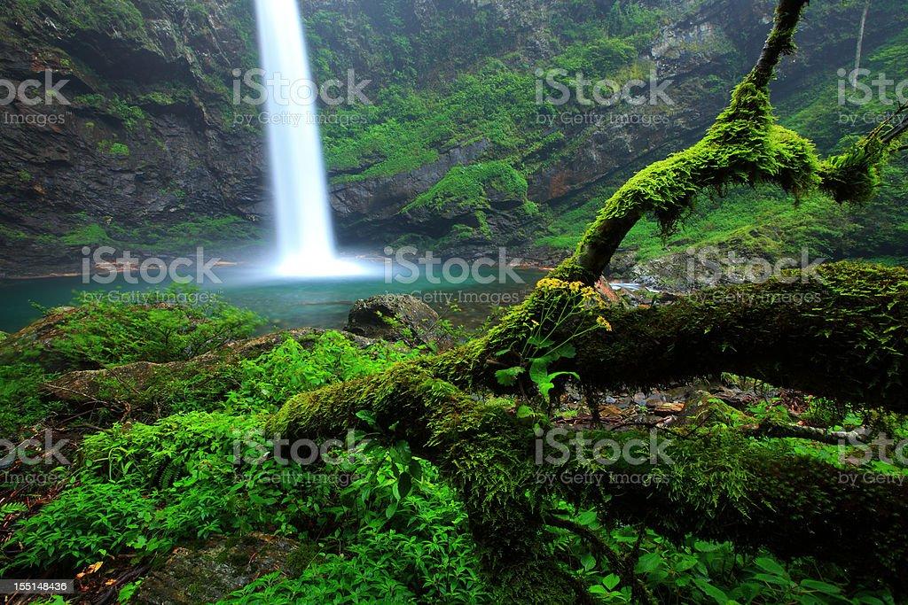 hongtan Waterfall royalty-free stock photo