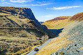 Honister Pass Cumbria.