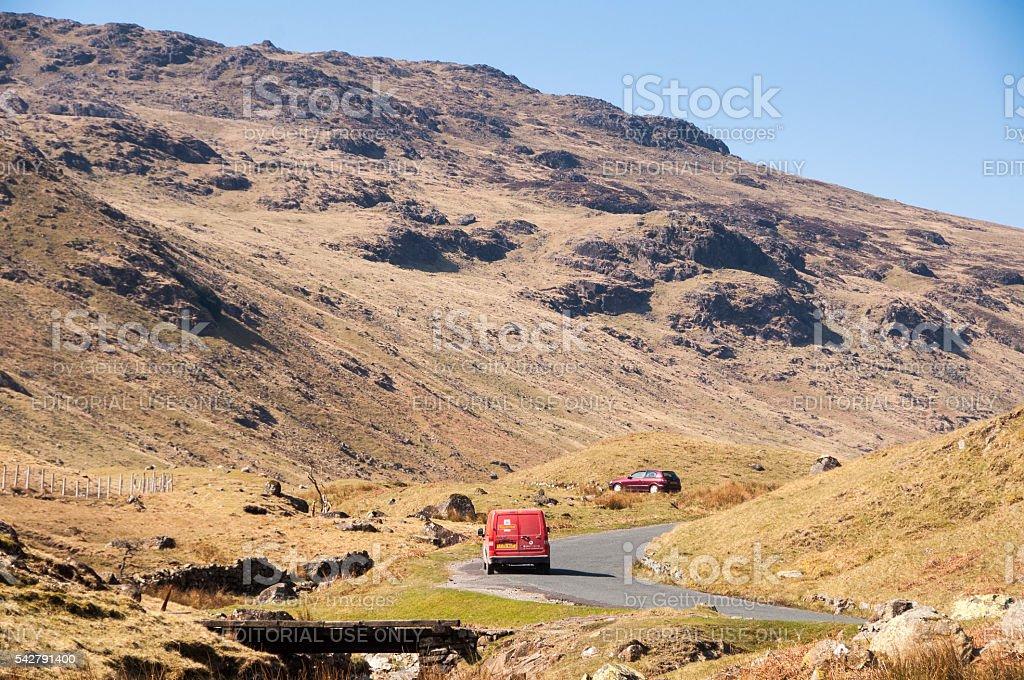 Honister Pass stock photo
