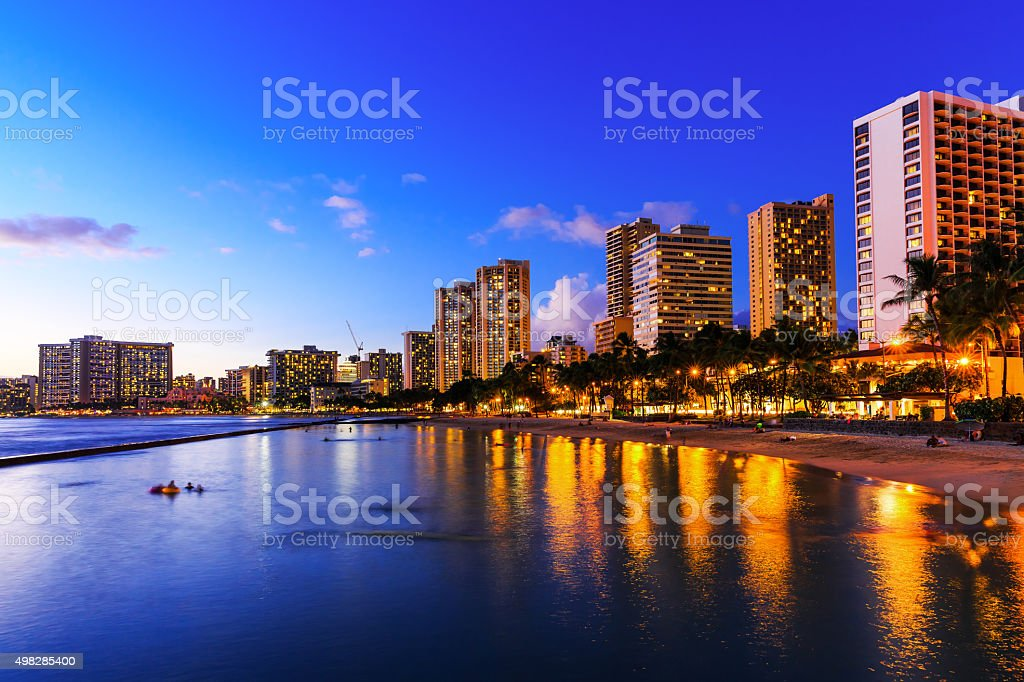 Honolulu, Hawaii stock photo