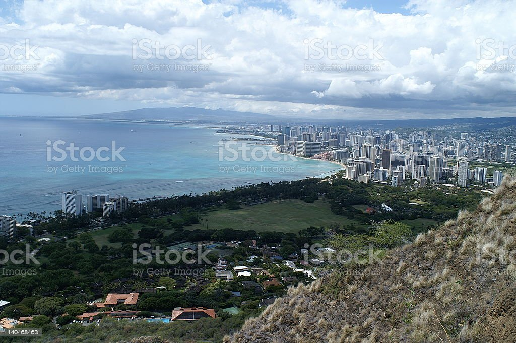 Honolulu (1) royalty-free stock photo