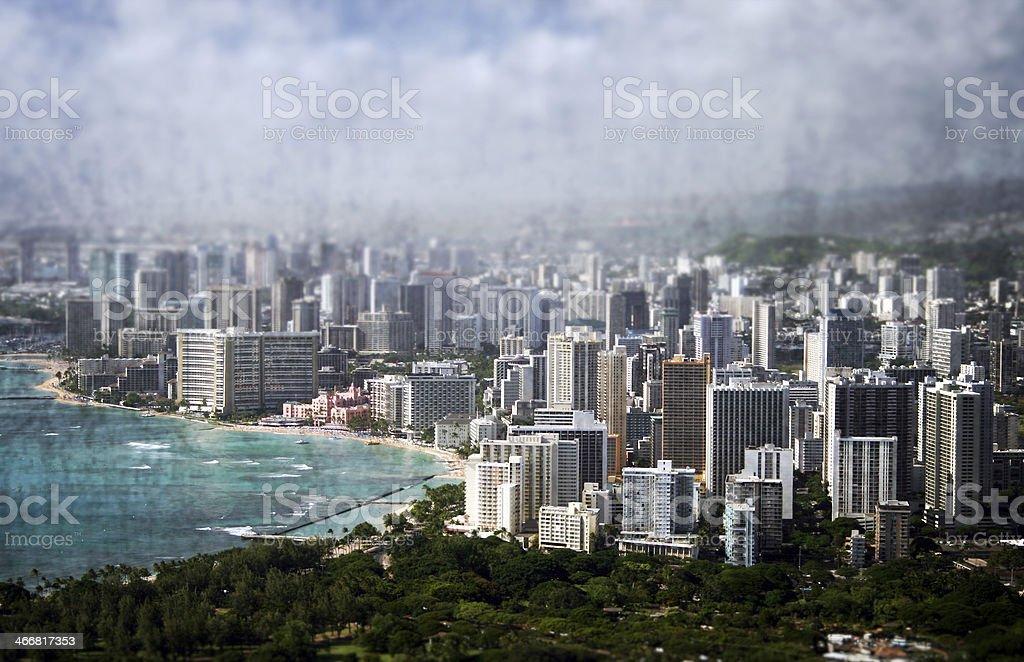 Honolulu royalty-free stock photo