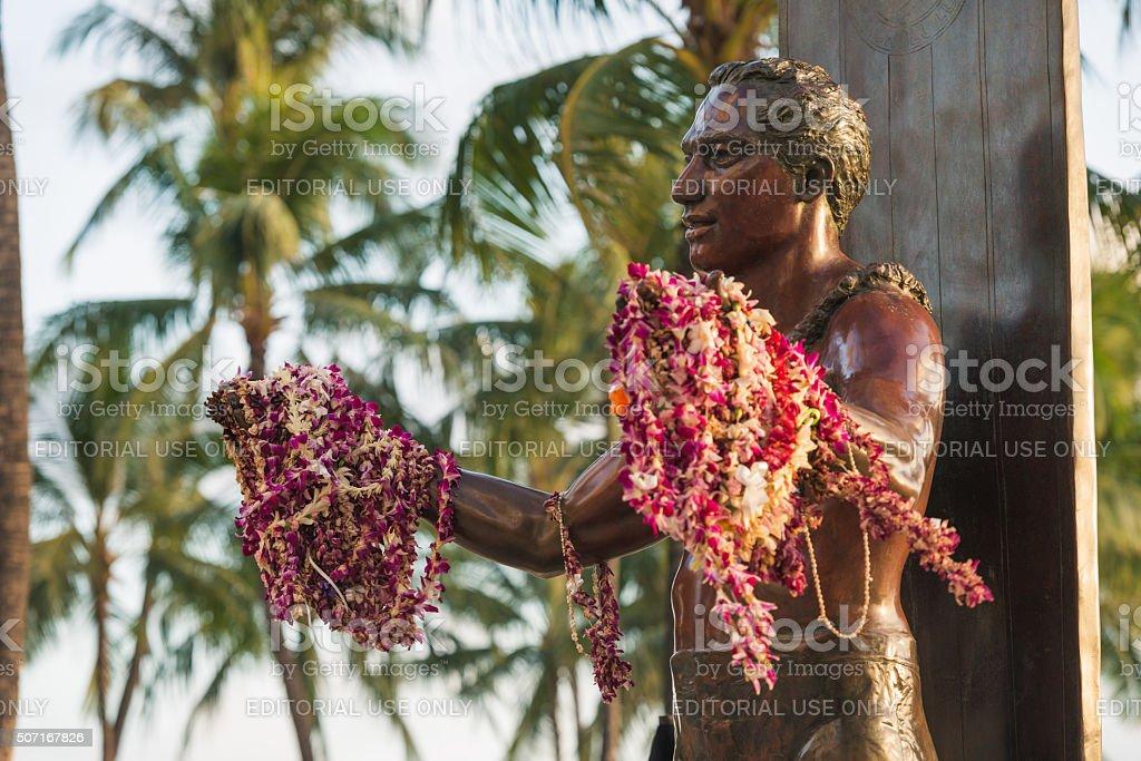 Honolulu Sunset stock photo