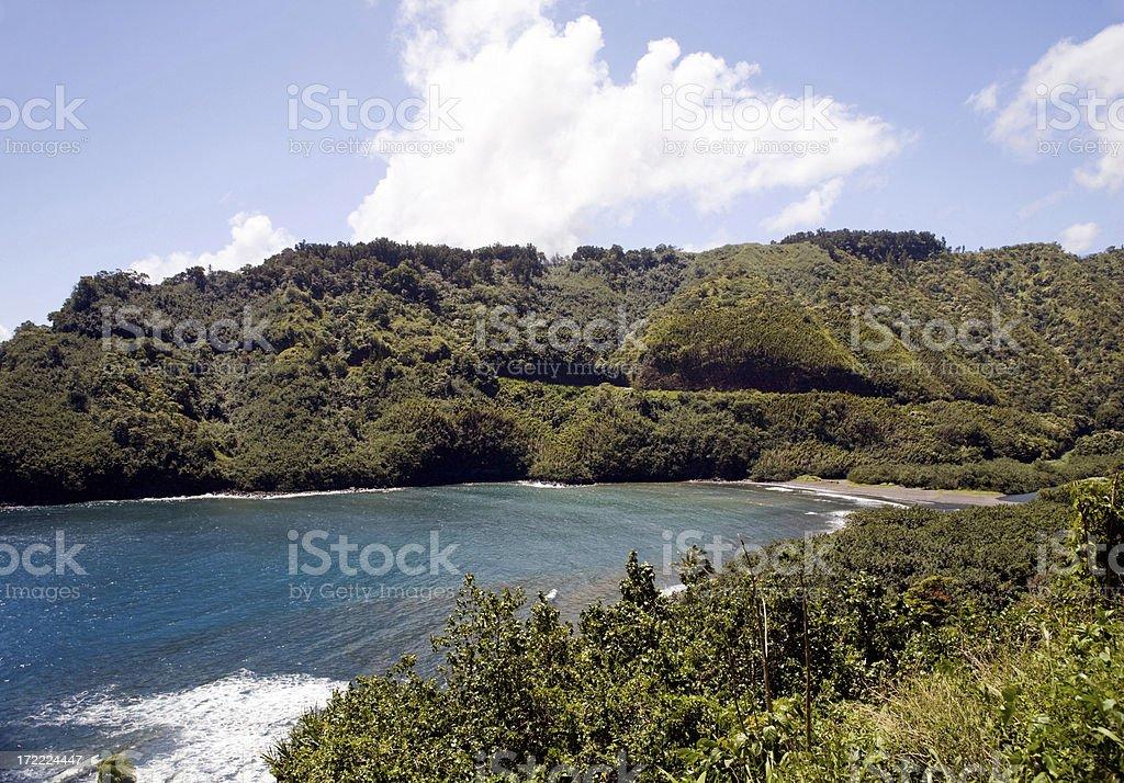 Honomanu Bay (Horizontal Orientation) royalty-free stock photo