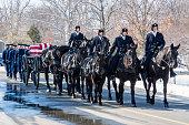 Honor Guard on horseback at Arlington National Cemetery