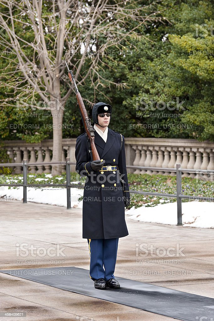 Honor guard royalty-free stock photo