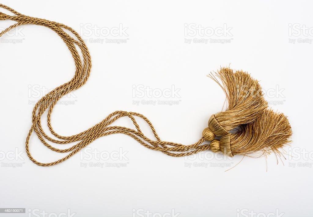 Honor society cords stock photo