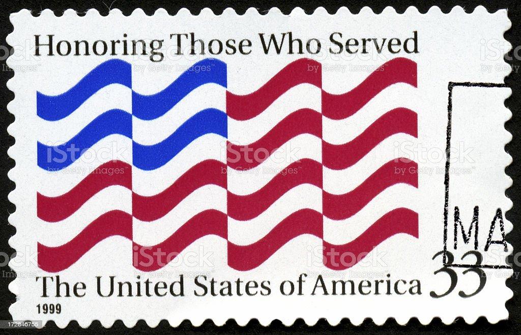 Honoring Veterans royalty-free stock photo