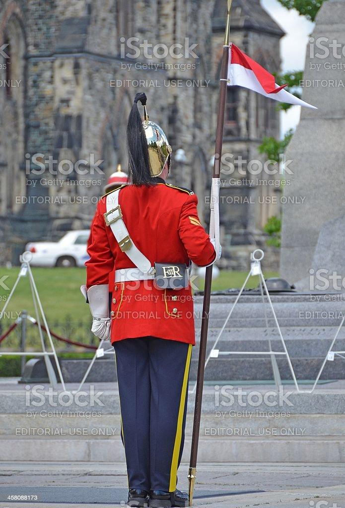 Honour Guard stock photo