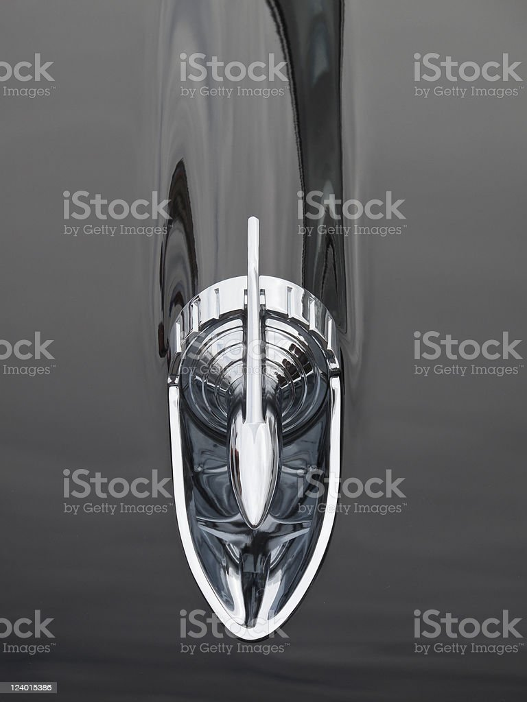 Hood Ornament stock photo