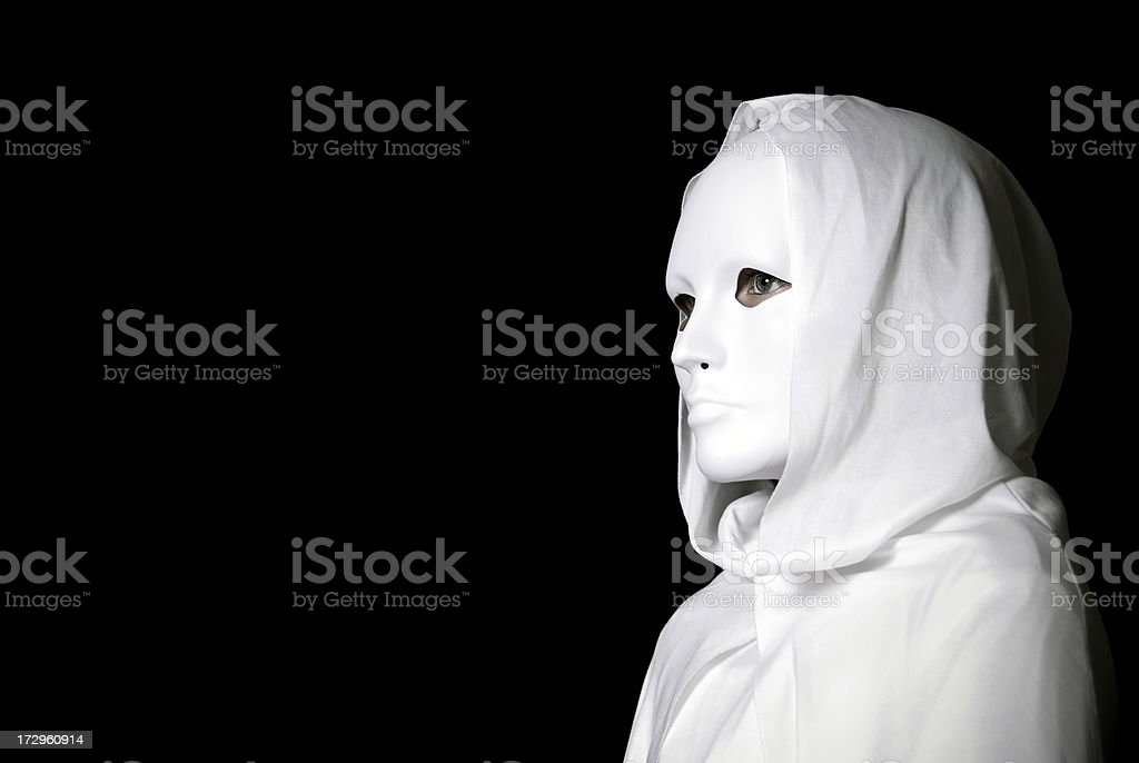 Hooded Figure royalty-free stock photo
