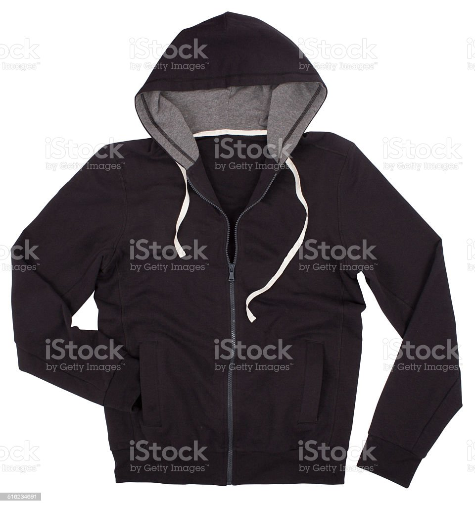 Hooded sweater stock photo