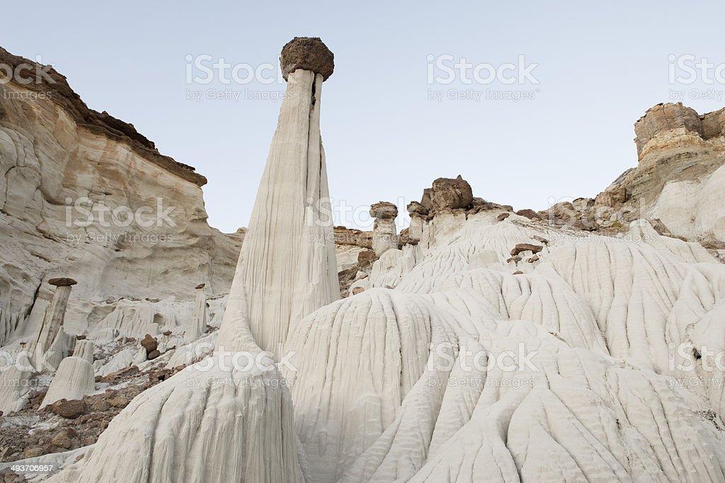 Hoodoo and Paria Rimrocks in the Vermillion Cliffs Utah USA stock photo