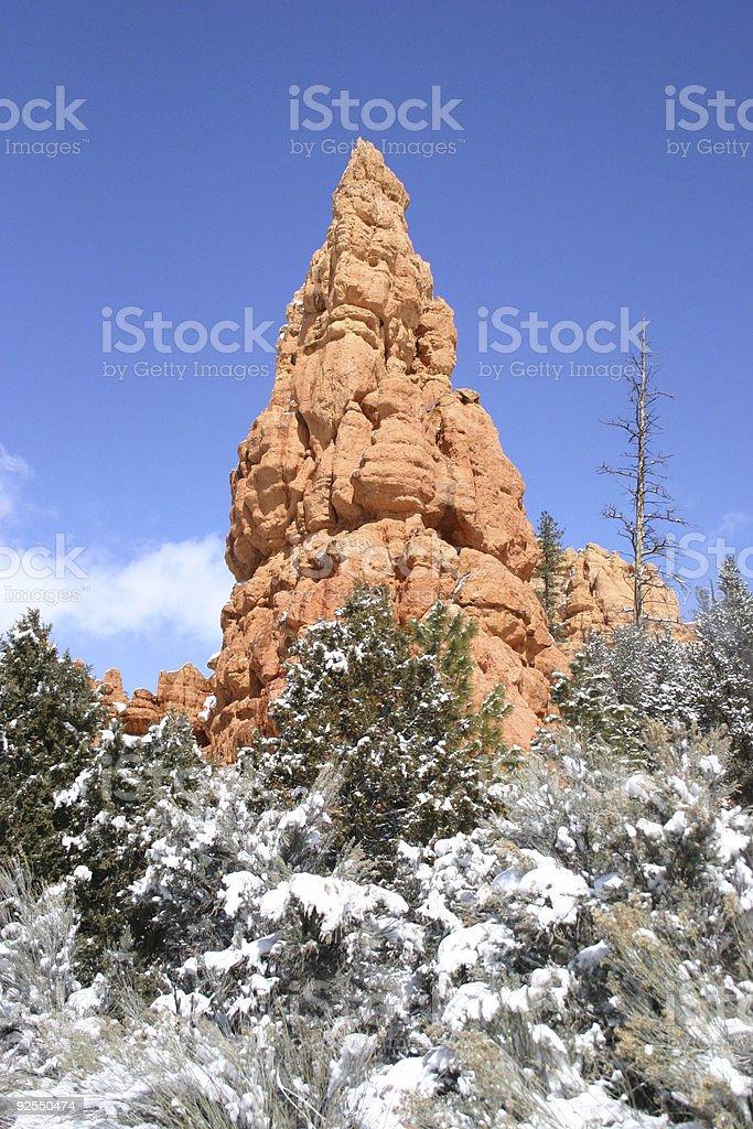 Hoodoo no Parque Nacional de Bryce Canyon foto de stock royalty-free