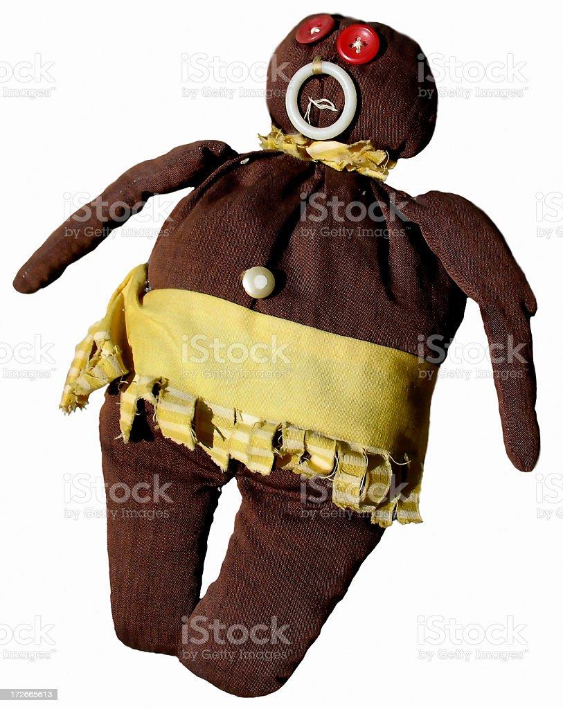 HooDoo Doll 1 royalty-free stock photo
