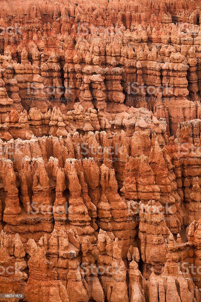Hoodoos of Bryce Canyon royalty-free stock photo