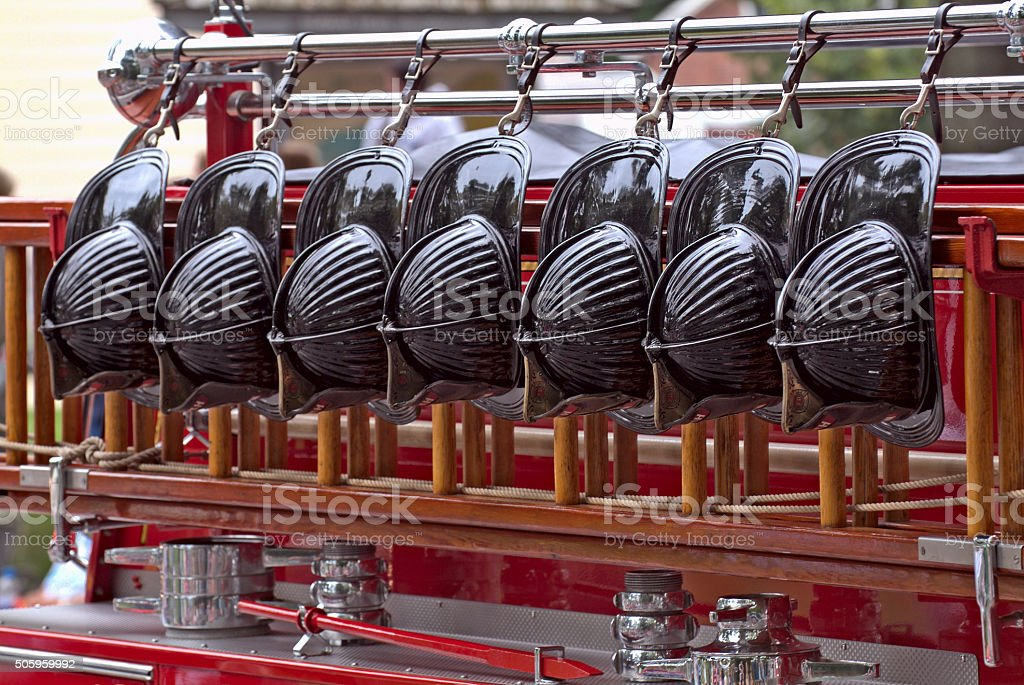 Hook and Ladder stock photo
