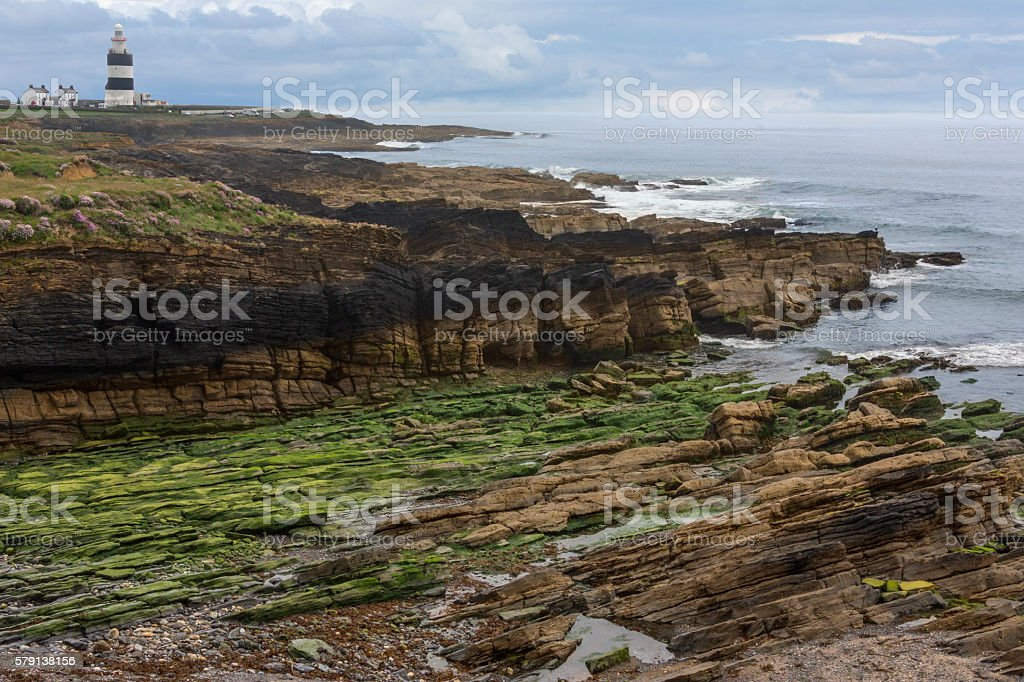 Hook Head Lighthouse - Hook Peninsula - County Wexford stock photo