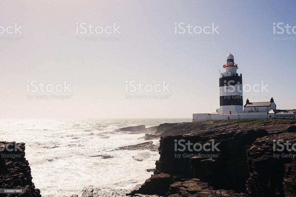 Hook Head Lighthouse  - Ireland stock photo
