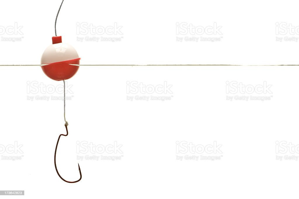 Hook, Line and Bobber stock photo