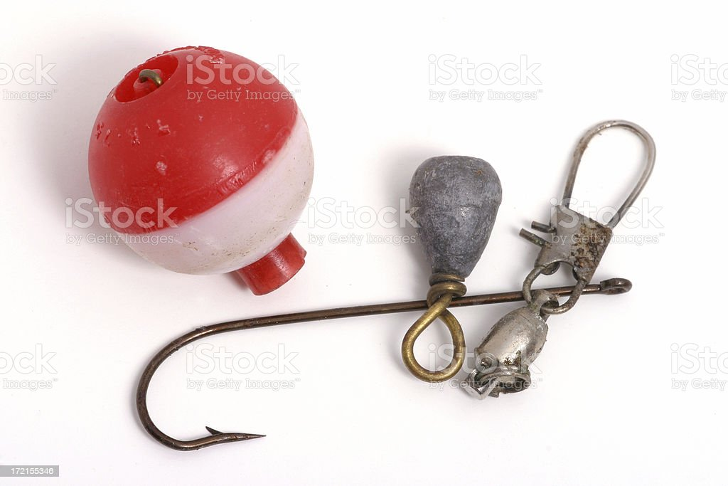 Hook, Line and Sinker stock photo