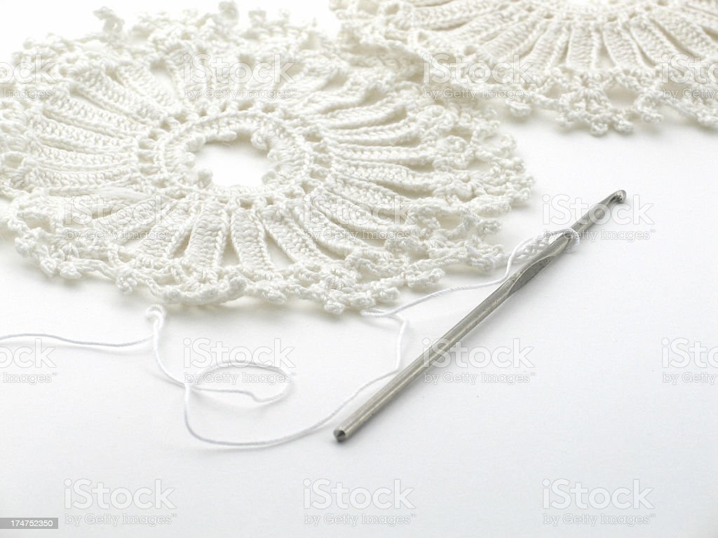Crochet royalty-free stock photo