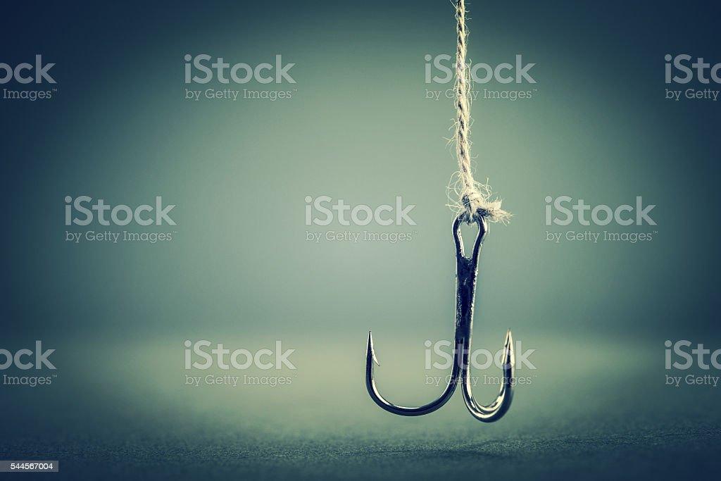 Hook stock photo