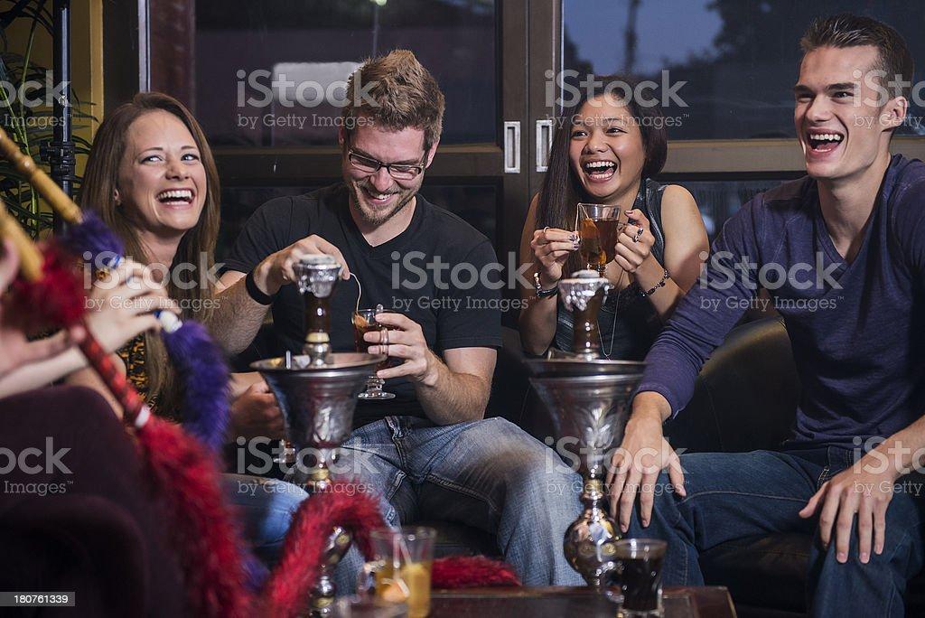 Hookah Bar stock photo
