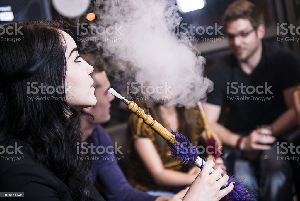 Hookah Bar stock photo