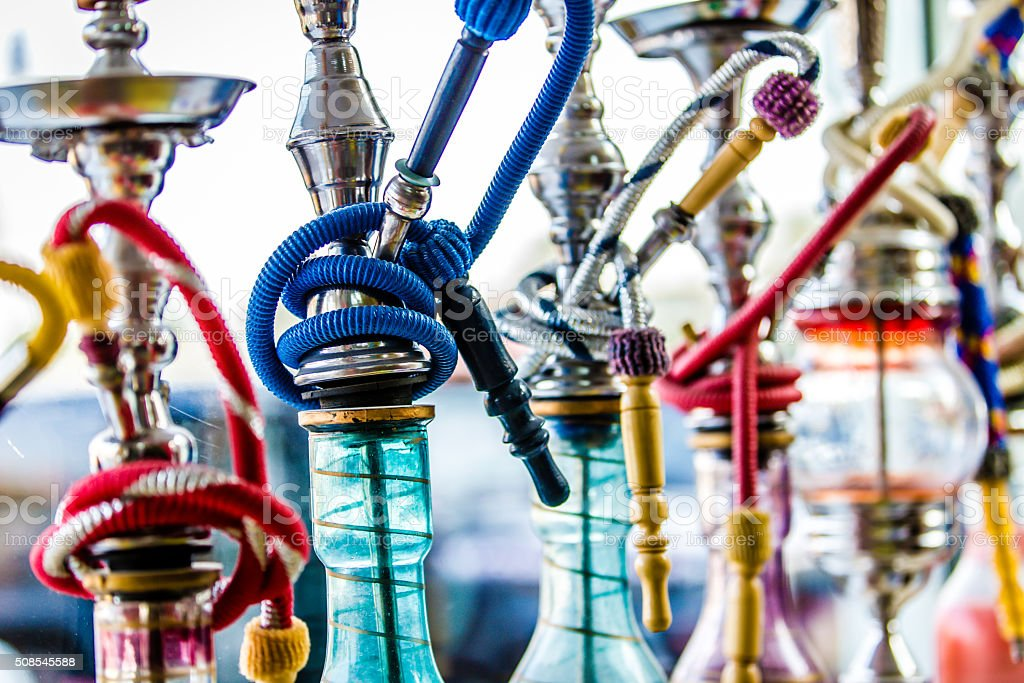 Hookah or Shisha stock photo