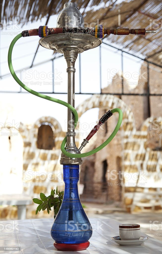 Hookah, water pipe. royalty-free stock photo
