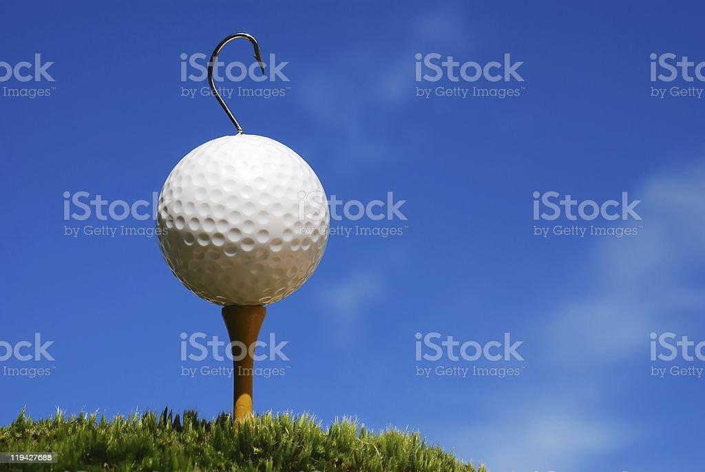 Hooked on Golf stock photo