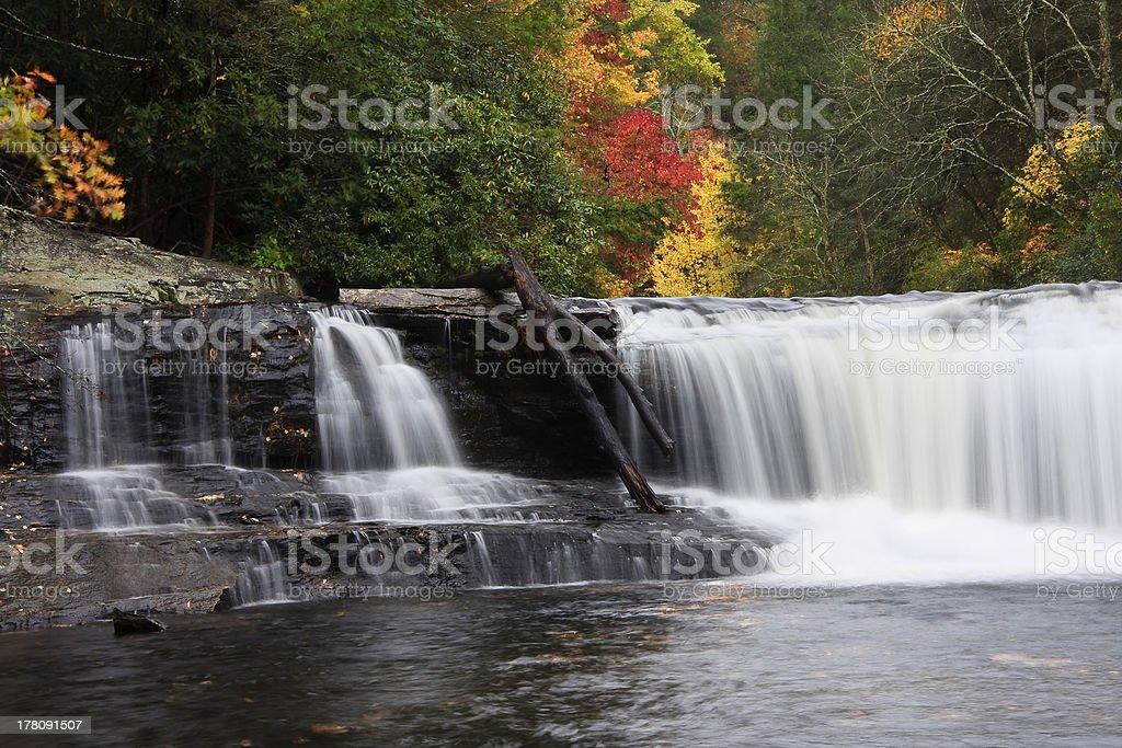 Hooker Falls stock photo