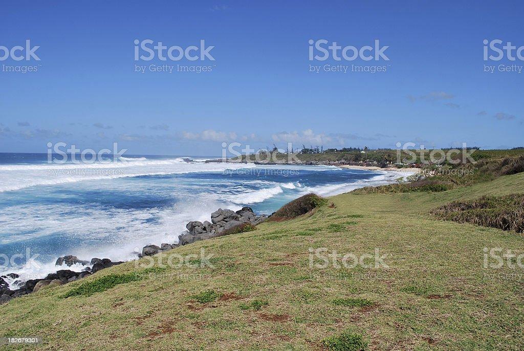 Hookipa Beach Park in Maui, Hawaii stock photo