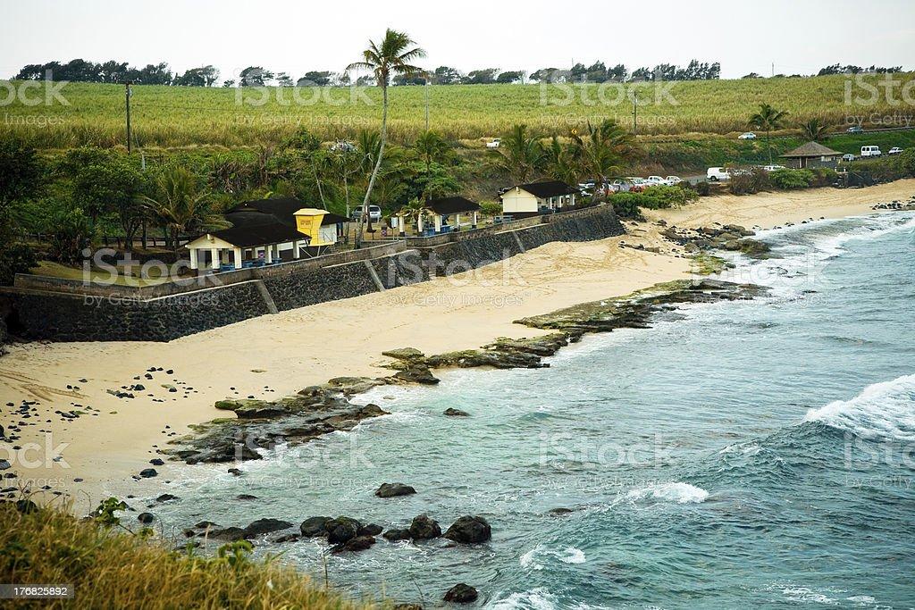 Ho'okipa Beach Park, Maui stock photo