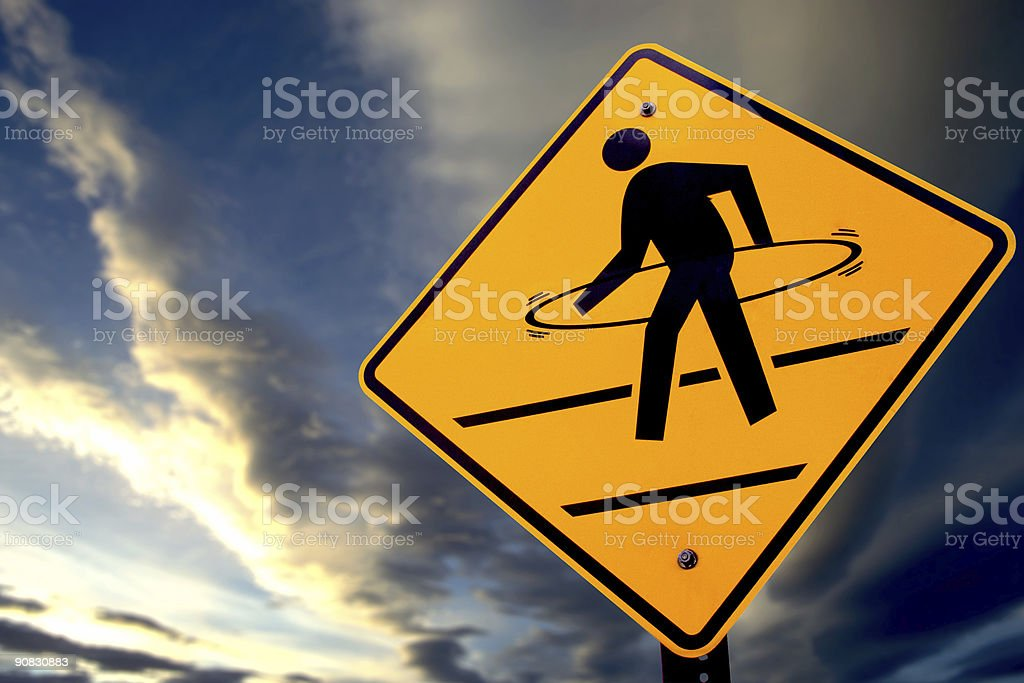Hoola Hoop Crossing stock photo