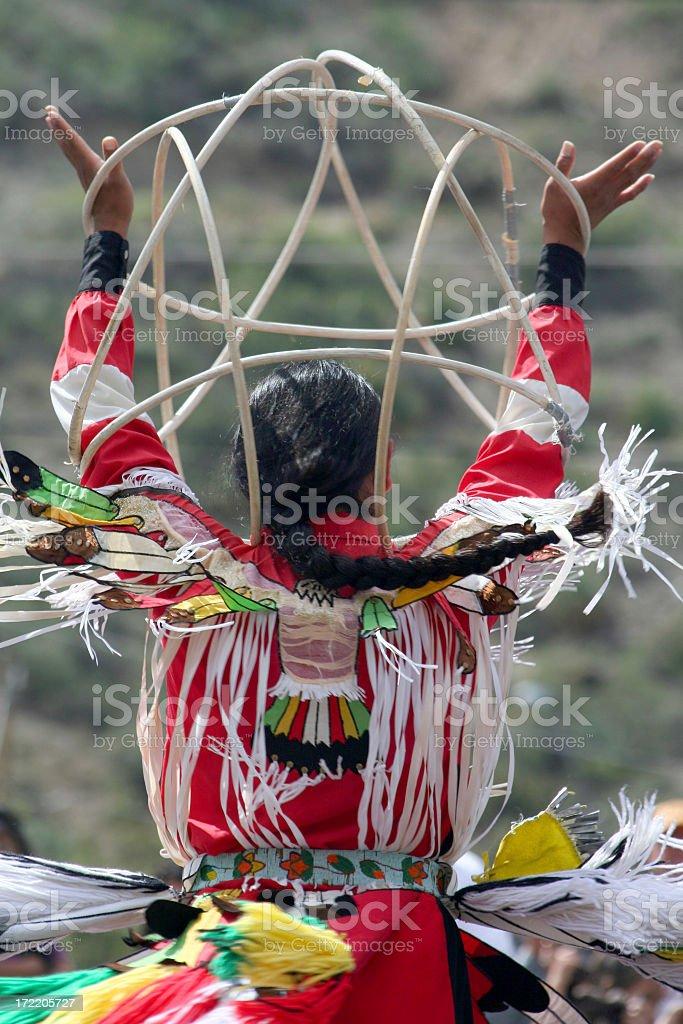 Hoop Dancer stock photo