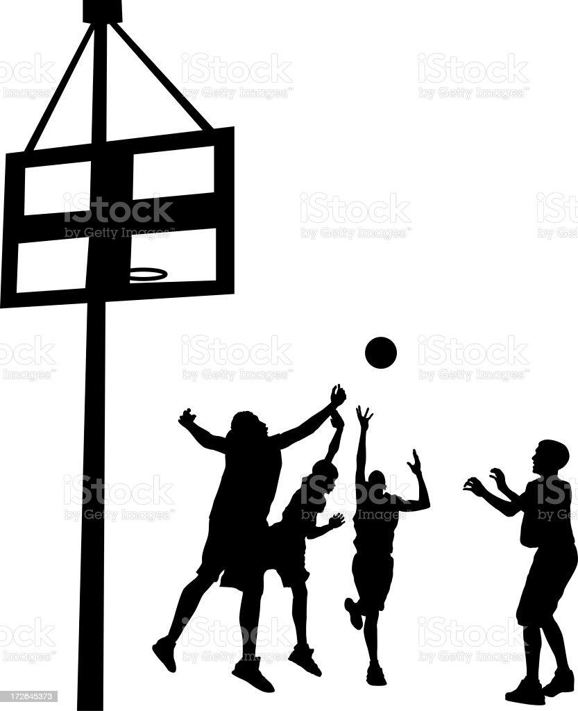 Hoop Dreams royalty-free stock photo