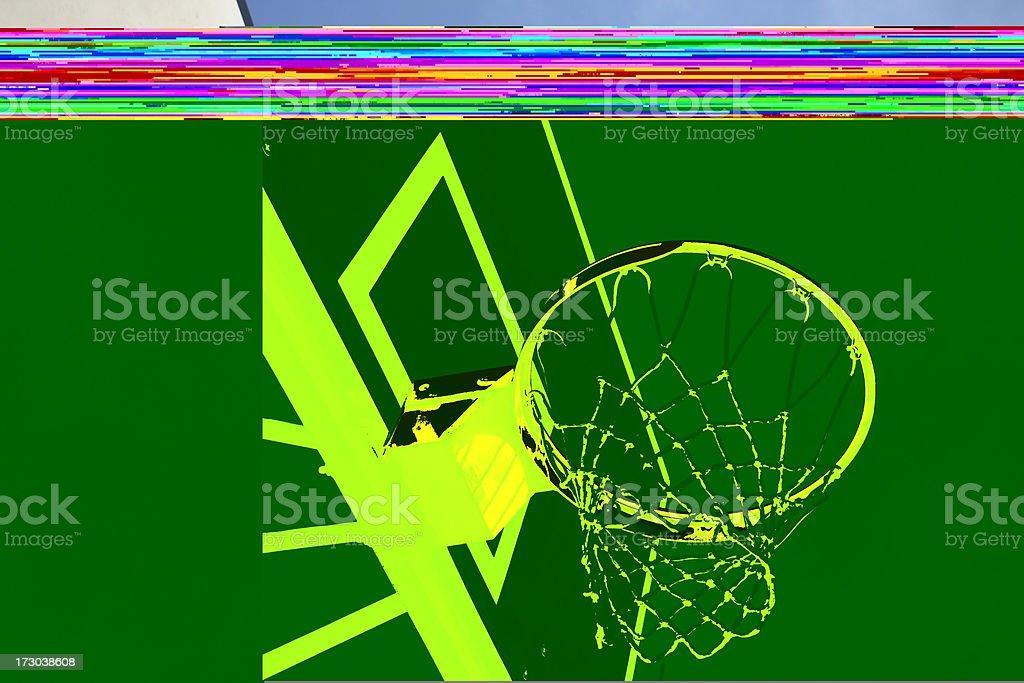 Hoop stock photo