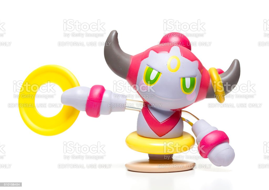 Hoopa McDonalds Happy Meal toy stock photo