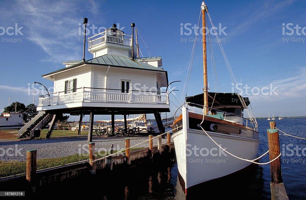 Hooper Strait Lighthouse stock photo