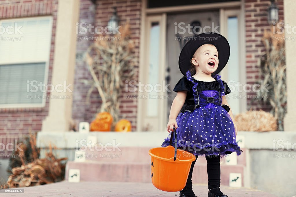 Hooray for Halloween! stock photo