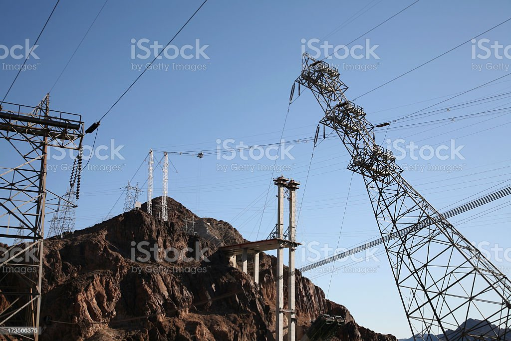 Hoover Dam And The New Arizona Project royalty-free stock photo