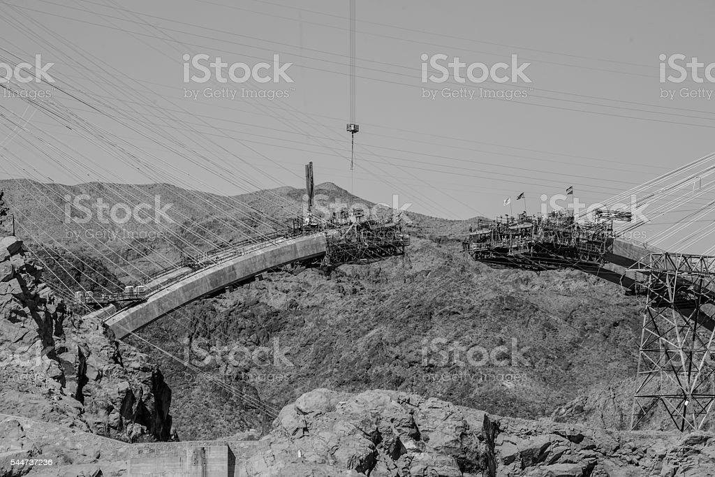 Hoover Dam Bypass stock photo