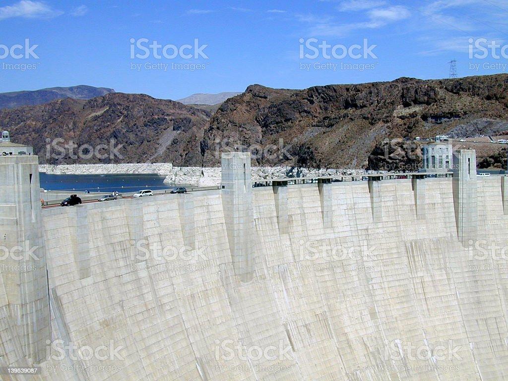 Hoover Dam II royalty-free stock photo