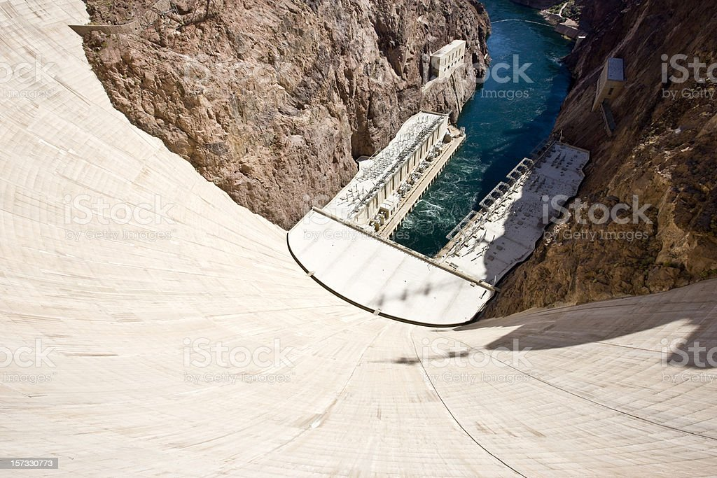 Hoover Dam Landmark USA stock photo