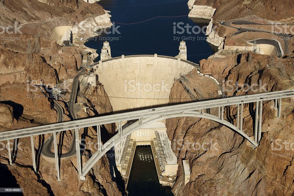 Hoover Dam, Nevada stock photo