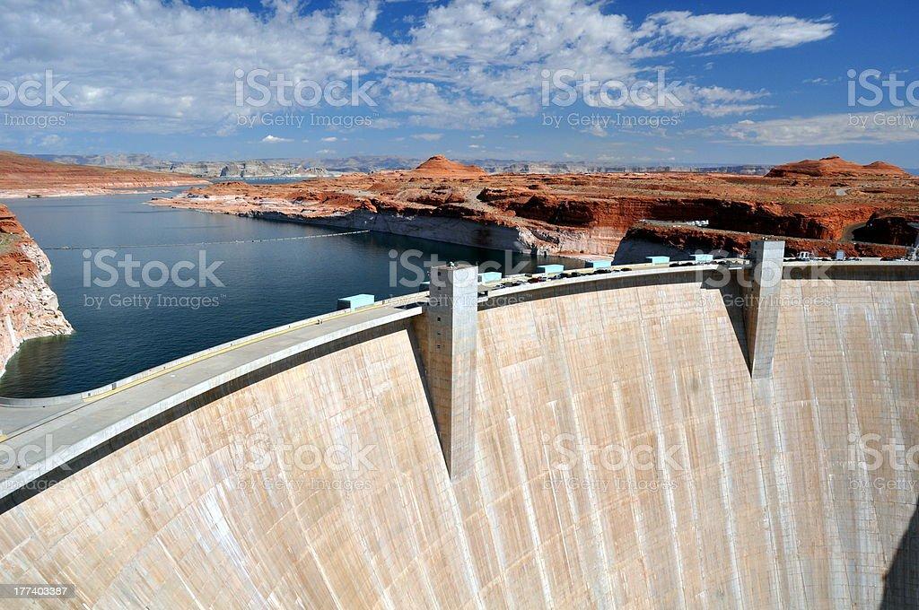 Hoover Dam stock photo
